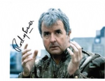 Rodney Bewes 'QuarterMaster Sgt. Stien DOCTOR WHO Genuine Autograph 10x8  11101